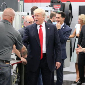 President Trump Visits Waukesha County Technical College