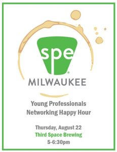 SPE Young Professionals Networking Event August 22nd @ Third Space Brewing